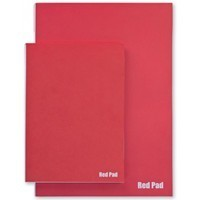 "Der Rote Block ""Red Pad"" 120 g/m²"