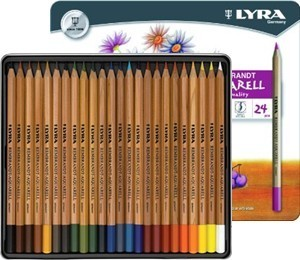 LYRA Rembrandt Aquarellstifte 24-er Metalletui