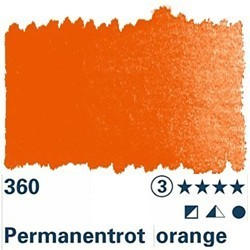 Horadam Aquarell 1/2 N Permanentrot orange