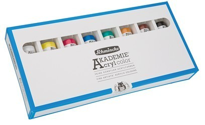 AKADEMIE® Acryl color Set 8 x 60 ml