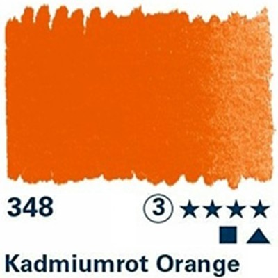 Horadam Aquarell 1/2 N Kadmiumrot orange